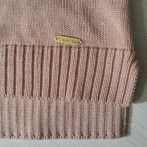 Calvin Klein Sweaters - Calvin Klein oversized cowl neck sweater in blush